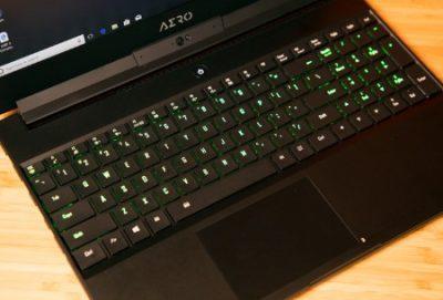 KeyboardGigabyte Aero 15