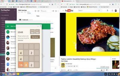Tampilan ChromeOS Asus Chromebook