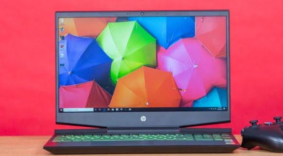 tampilan HP Gaming Pavilion 15-dk0046nr