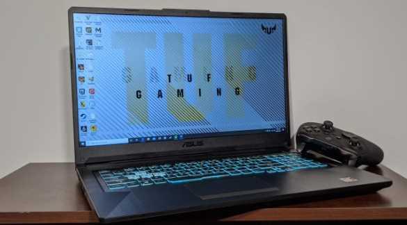 Ulasan Asus TUF Gaming a17