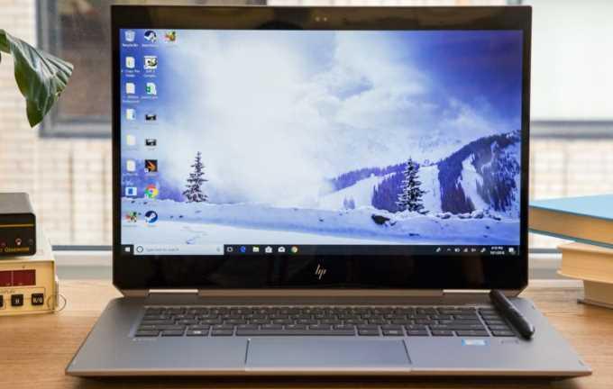 Review HP ZBook Studio x360