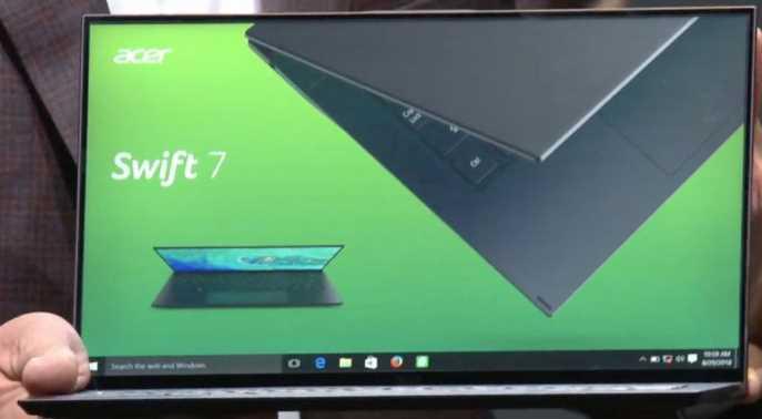 Spesifikasi Acer Swift 7