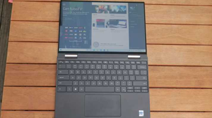 review laptop XPS 13 2-in-1