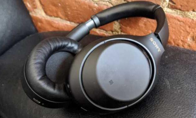 Headphone Sony wireless noise cancelling