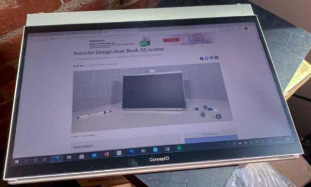 spek laptop Acer ConceptD 7 Ezel