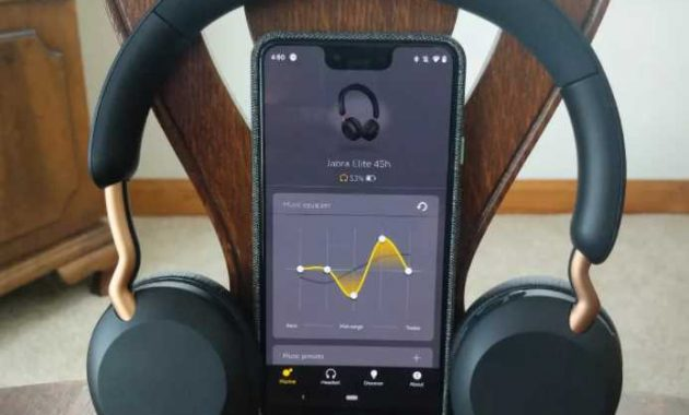 review Headphone Jabra Elite 45h
